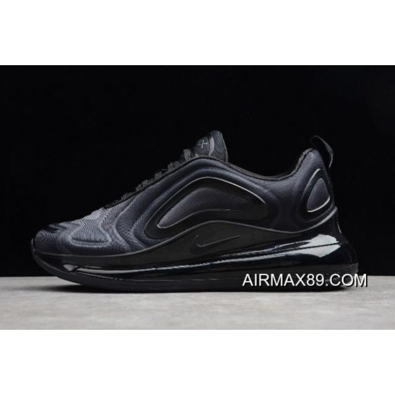 "ffa2805c67330 2020 New Style Nike Air Max 720 ""Triple Black"" AO2924-004 ..."