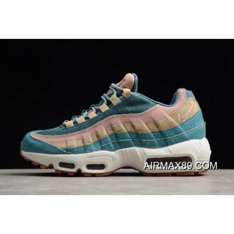Womens Shoes Nike Air Max 95 LX Smokey Blue AA1103 002 aa1103 002d