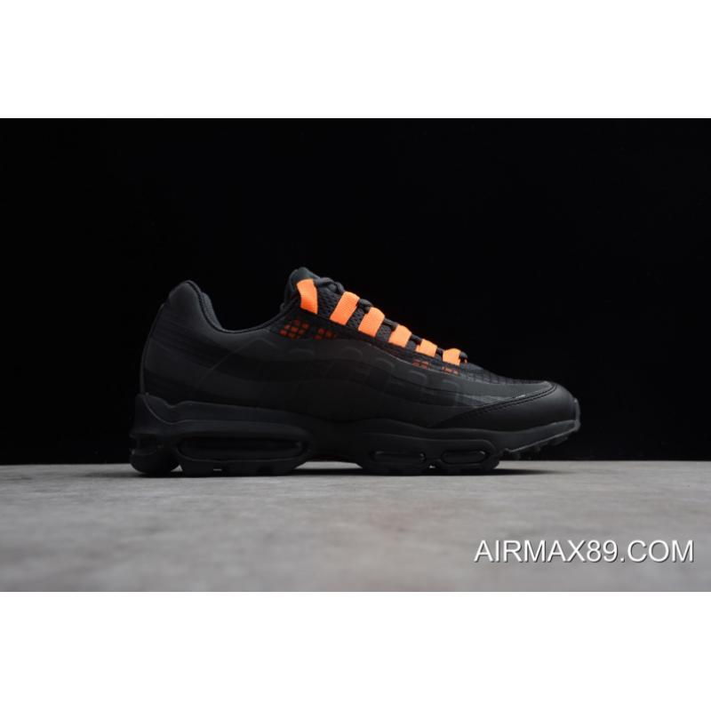 17cb90b660 ... 2020 Buy Now Nike Air Max 95 Ultra SE Black/Total Orange AO9566-001 ...