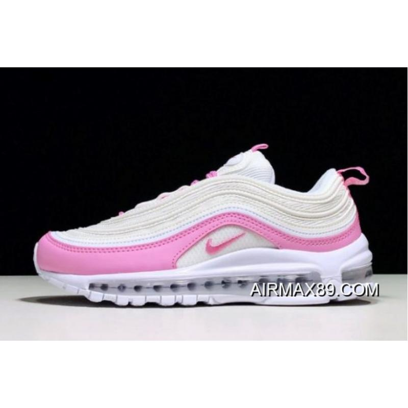 """52ce29d929 Women 2020 New Year Deals Wmns Nike Air Max 97 Essential """"Psychic Pink""""  BV1982 ..."""