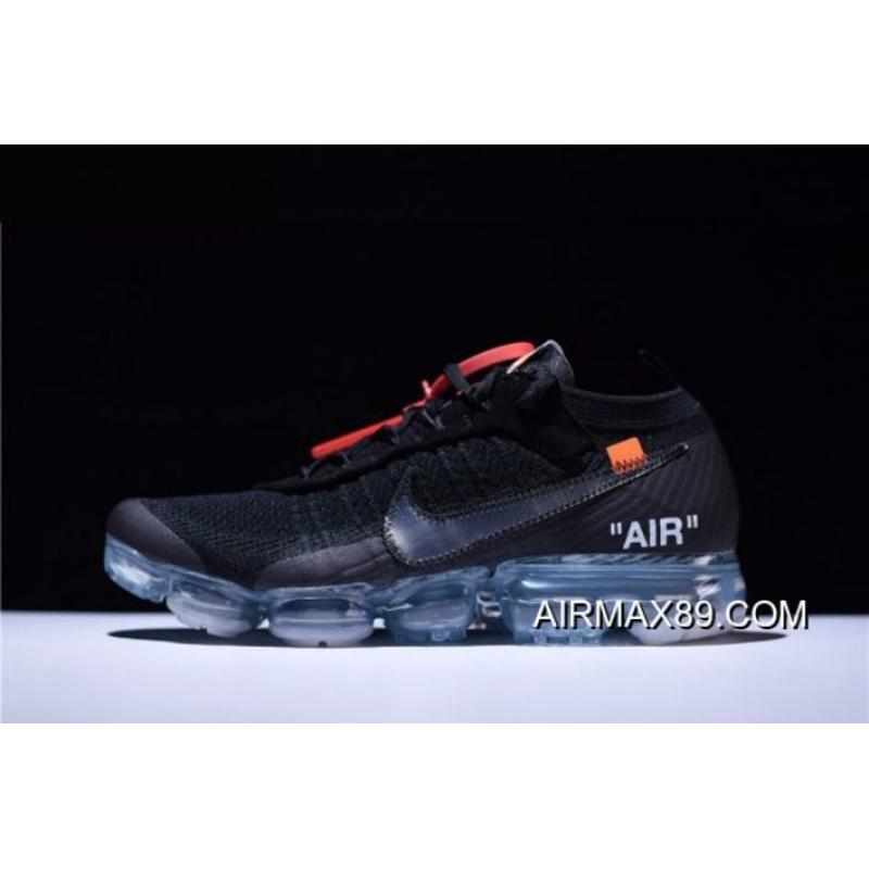 b228a6cf05 Women/Men Virgil Abloh's New Off-White X Nike Air VaporMax Black/Total ...