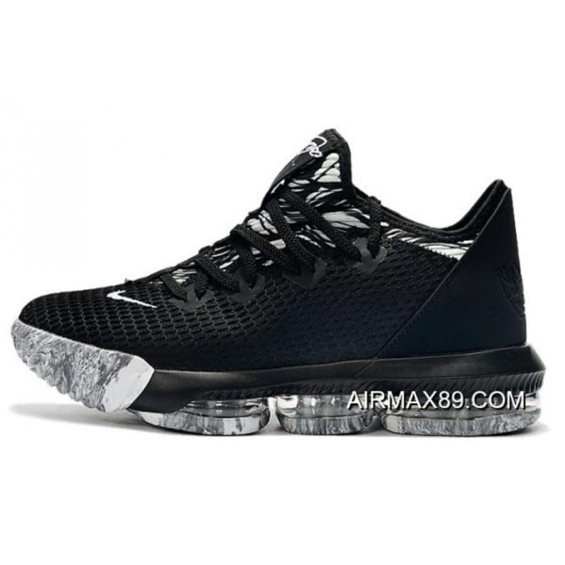 """the latest 5b11c 0ee18 New Release Nike LeBron 16 Low """"BHM"""" Black White"""