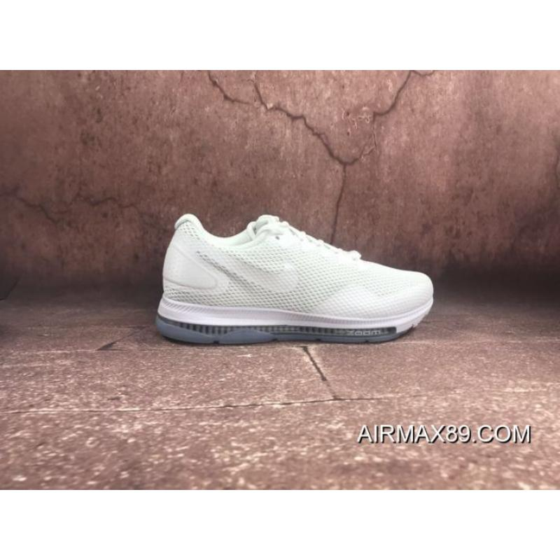 1afb22444027 ... Free Shipping Nike Zoom All Out Low 2.0 Filaments Zoom Air Cushioning  Running Shoes White Rice ...