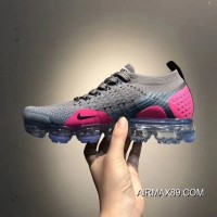 e599715819 Women Nike Air VaporMax 2018 Flyknit Sneakers SKU:16626-296 2020 Big  Discount