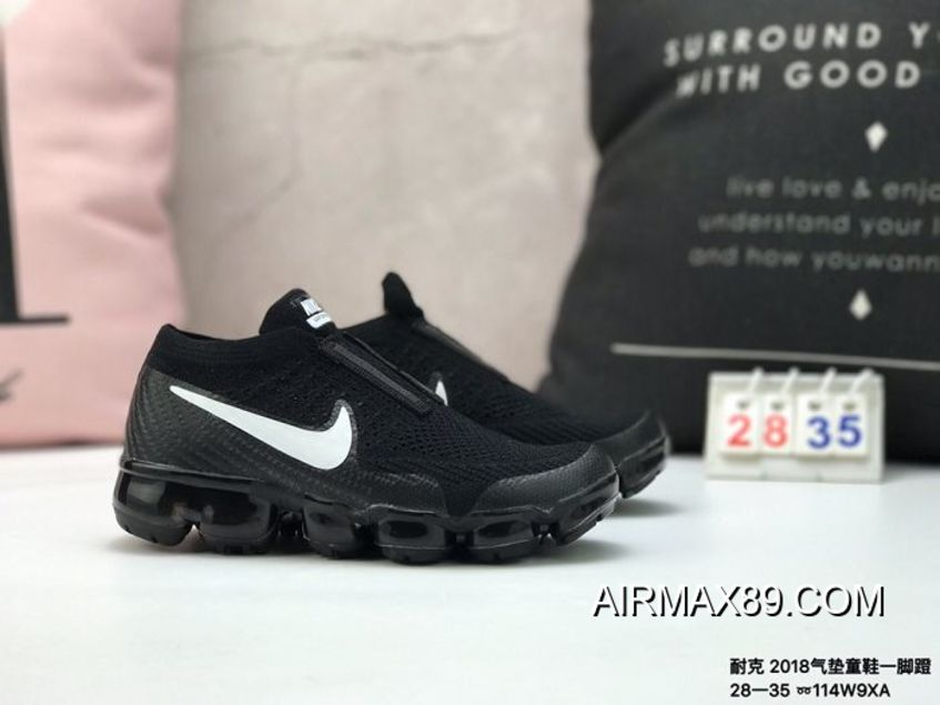 7ea05ea88bf 2020 New Style Kids Nike Air VaporMax 2018 Flyknit Running Shoe  SKU:155705-369
