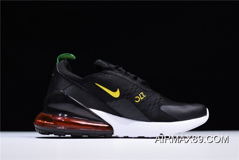 "Nike Air Max 270 ""FIFA World Cup"" Brazil Black Green Yellow"