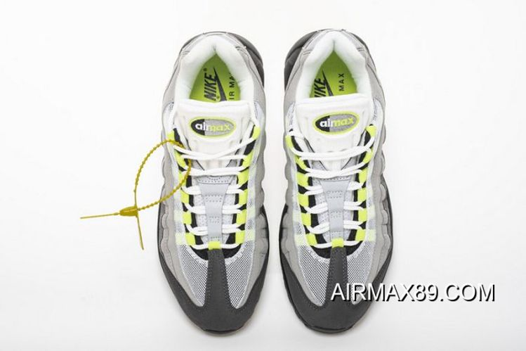 2020 Authentic Men Nike Air Max 95 Running Shoes SKU:123907 360