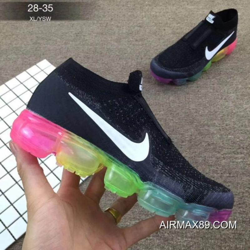 promo code 90a98 c540a 2020 Best Kids Nike Air VaporMax 2018 Flyknit Running Shoe SKU:86838-235