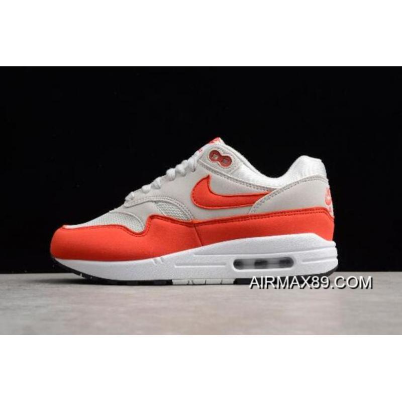 "Women 2020 New Year Deals WMNS Nike Air Max 1 ""Habanero Red"
