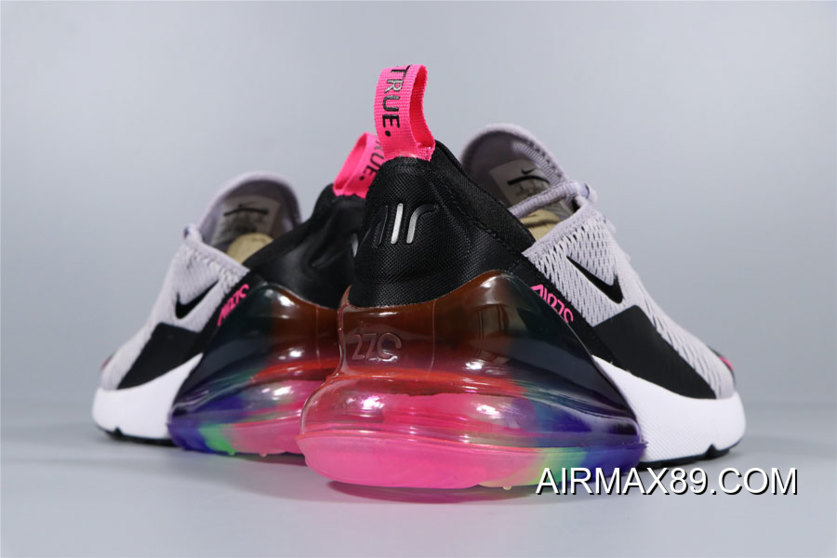"""WomenMen Mens And WMNS Nike Air Max 270 """"Be True"""" Multi"""