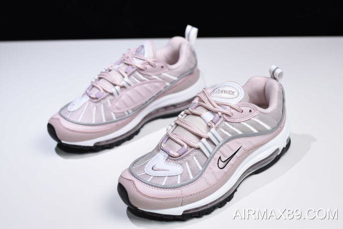 2020 New Style Women's Nike Air Max 98 Barely RoseElemental Rose Particle Rose AH6799 600